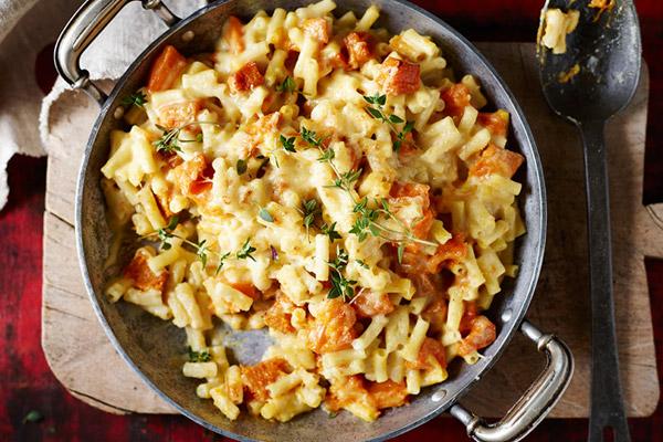 Pumpkin and Macaroni Cheese