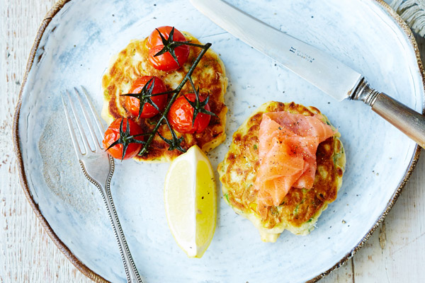 Sweetcorn and Dill Fritters