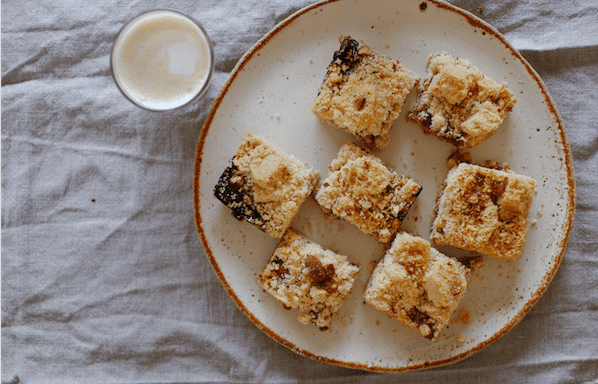 One-Bowl Jam Crumble Bars