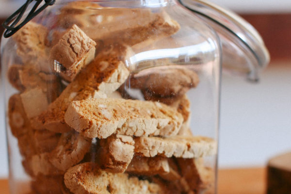 Orange and Hazelnut Biscotti