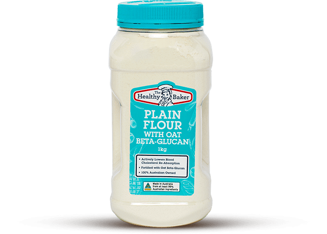 The Healthy Baker Plain Flour with Oat Beta-Glucan