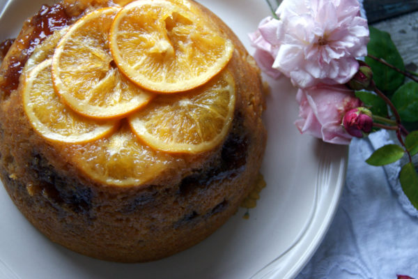 Steamed Orange Pudding