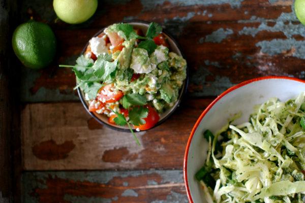 Fetta and Avocado Guacamole