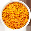orange grated