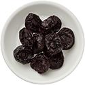 prunes plums