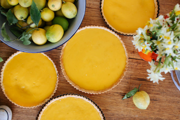 Lemon Curd Tart