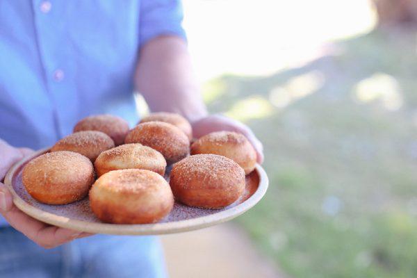 Cinnamon Donuts
