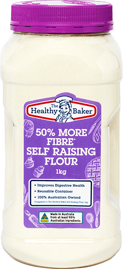 The Healthy Baker 50% More Fibre Self Raising Flour