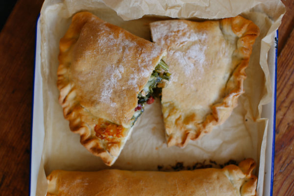 Kale and Chorizo Calzone