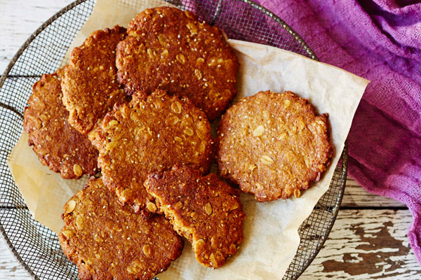 Chia ANZAC Biscuits