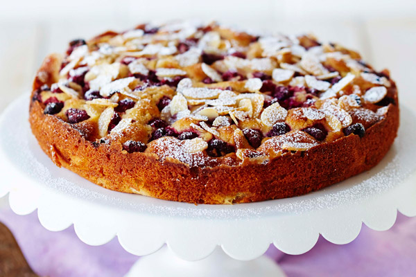 Pear, Almond and Raspberry Pie