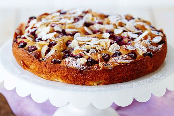 Almond and Raspberry Friands