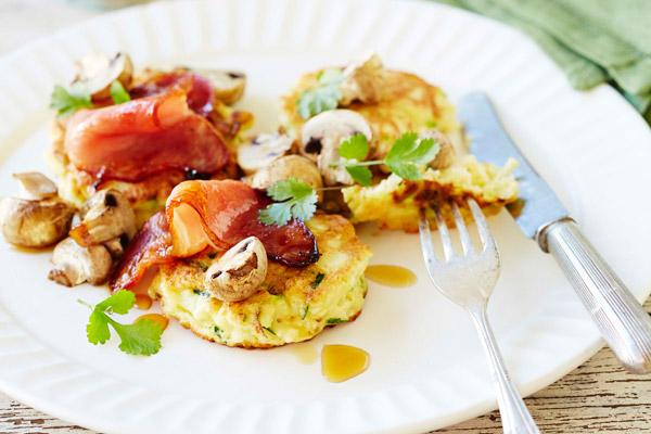 Ricotta and Zucchini Hotcakes