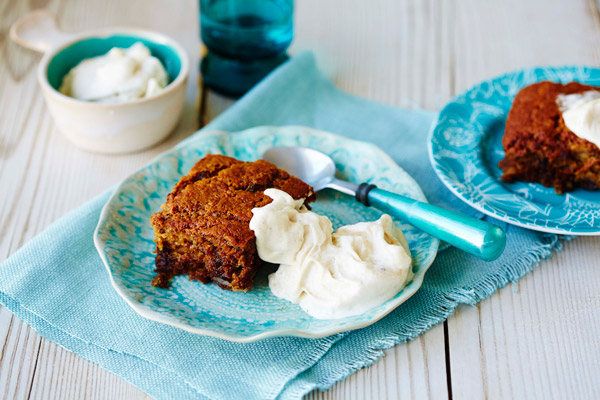 Sticky Date Pudding w/ Healthy Banana Ice-cream