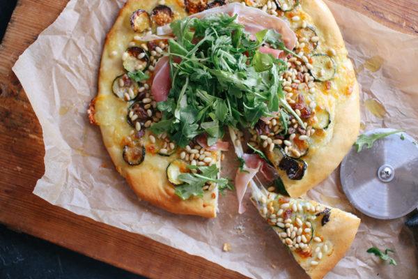 Zucchini Agrodolce and Prosciutto
