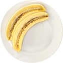 banana sliced
