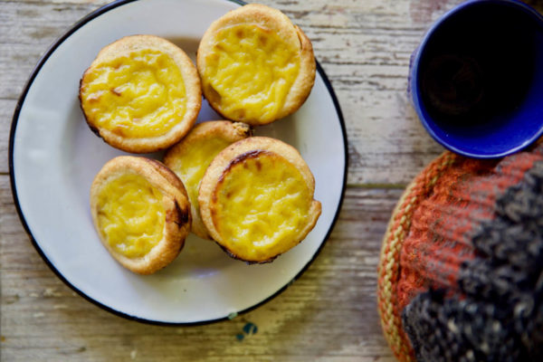 Cardamom and Cinnamon Custard Tarts