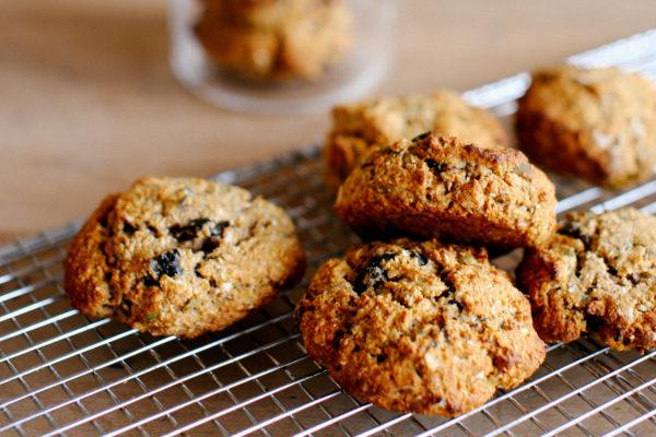 Oat, Honey and Raisin Biscuits
