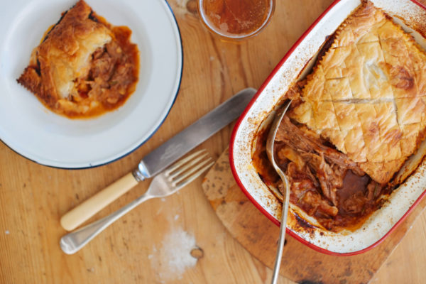 Slow Cooked Brisket Pie