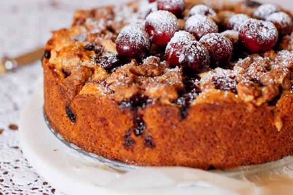 Cherry and Vanilla Cake