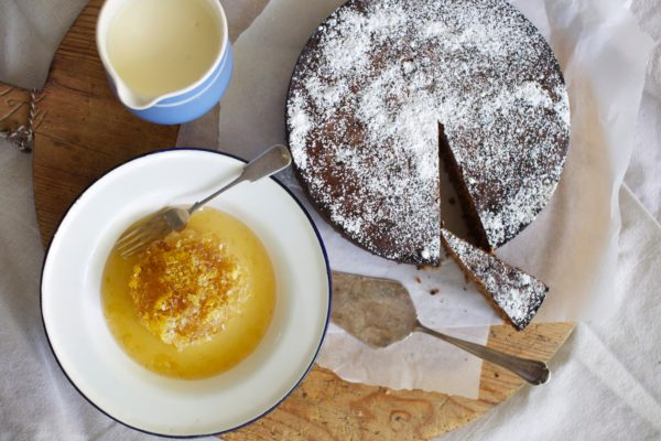 Hazelnut Milk Chocolate and Espresso Cake