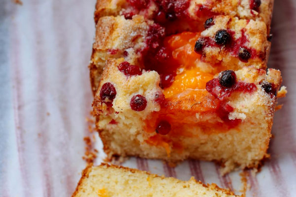 Melt and Mix Summer Fruit Cake
