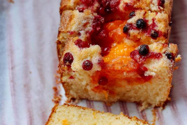 Melt and Mix Summer Fruit Cake