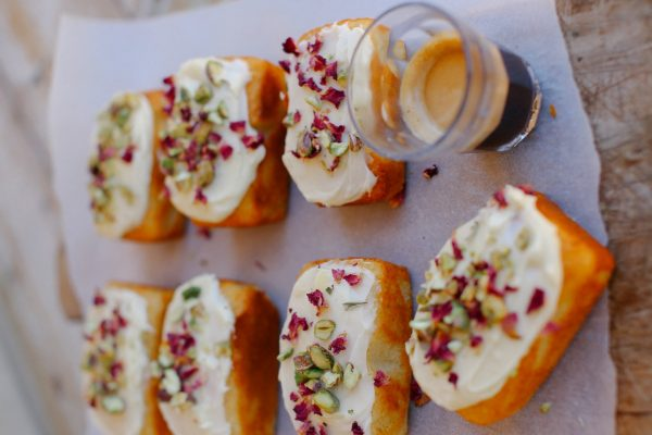 Pistachio and Yoghurt Mini Cakes