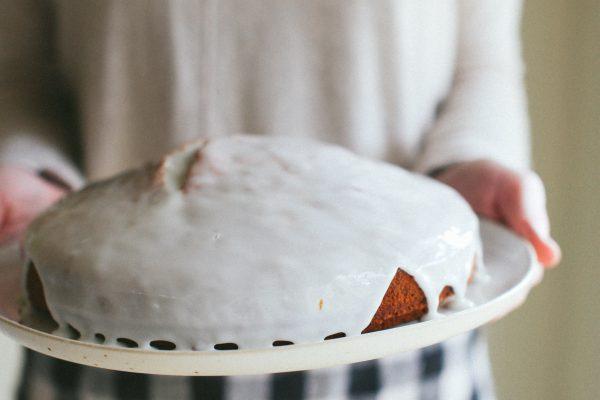 Melt and Mix Banana Cake