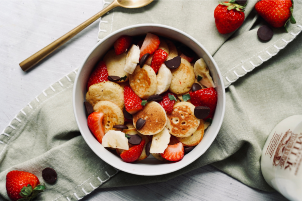 Protein Packed Pancake Cereal
