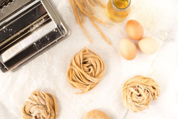 Wholemeal Egg Fettuccini Pasta