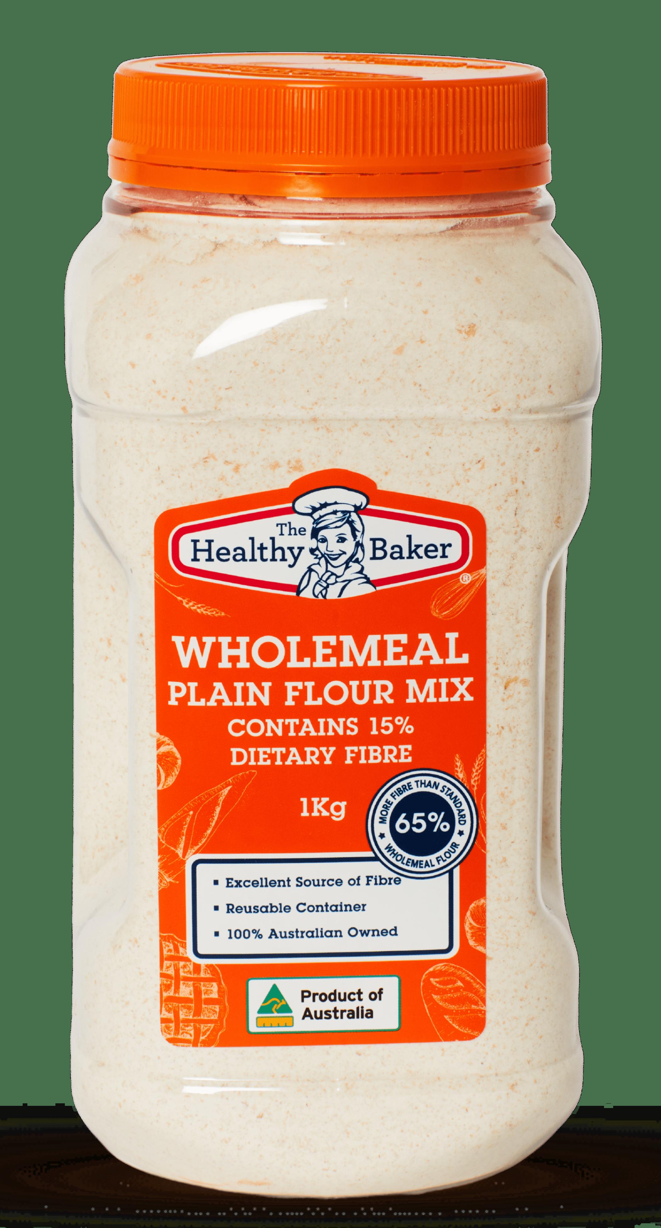 Wholemeal Plain Flour Mix