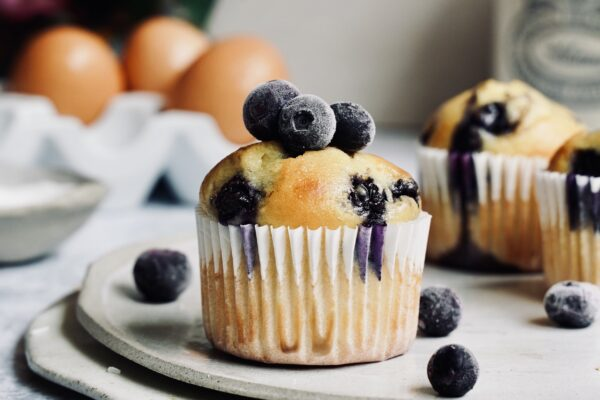 Muscle Boosting Blueberry Muffins