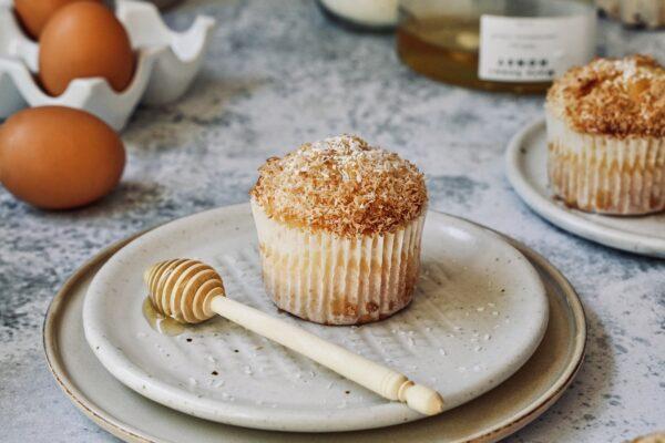 Coconut & Honey Muffins