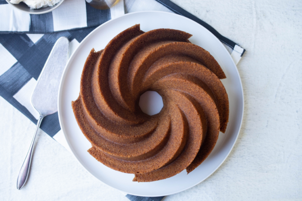 Spiced Vanilla Cake with Vodka Syrup